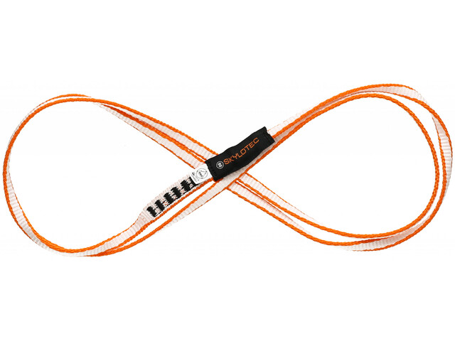 Skylotec Dyneema Sling 8.0 16mm 80cm white/orange